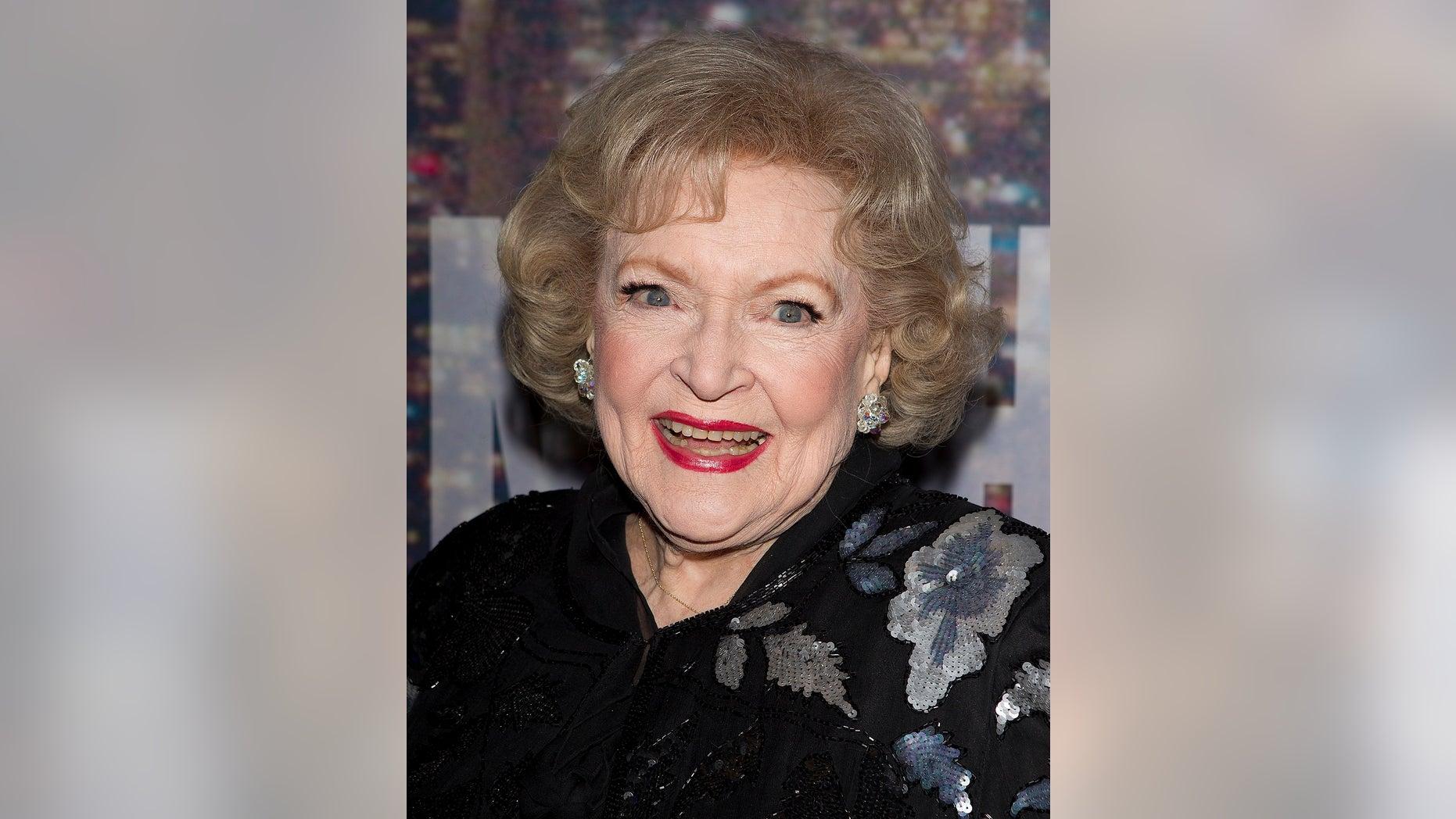 Betty White's birthday is Jan. 17.