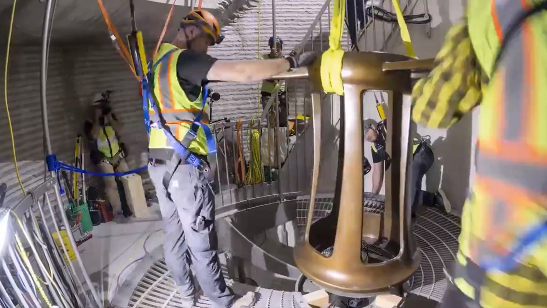 Construction has begun on a project to build a 10,000-year clock, funded by Amazon CEO Jeff Bezos.