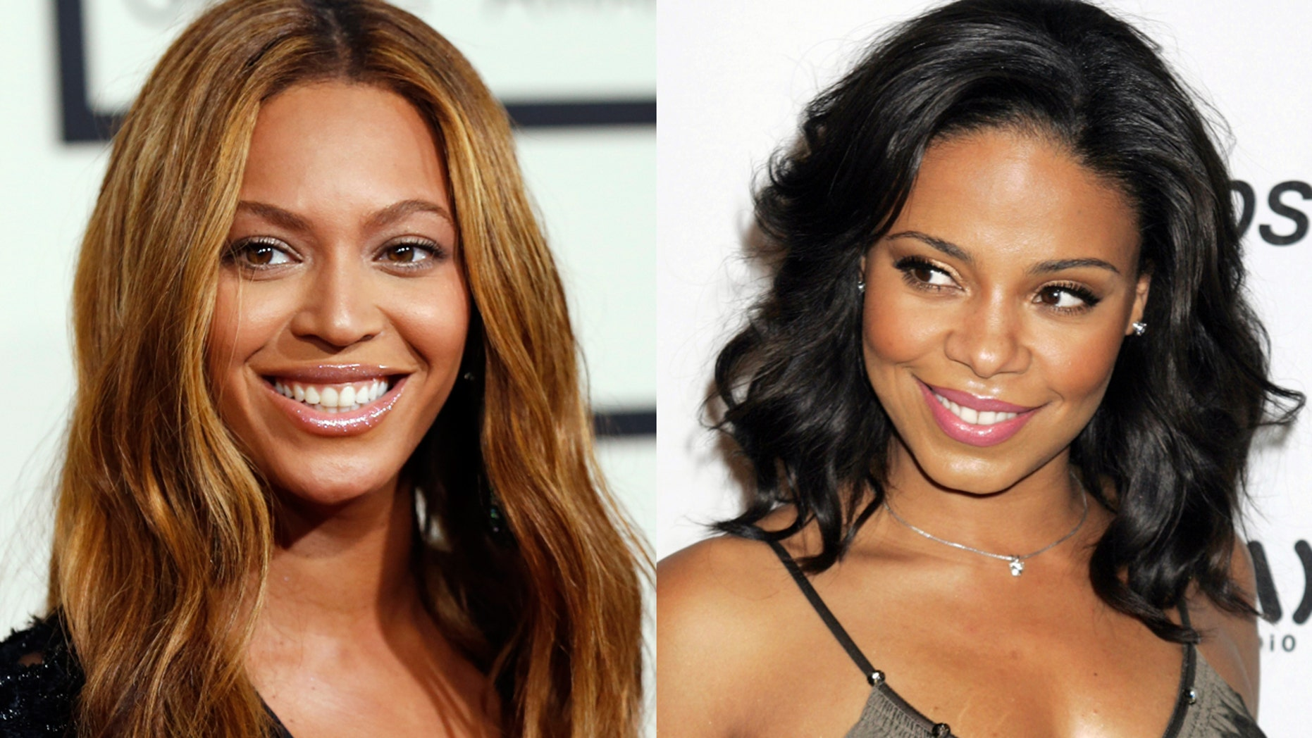 Sanaa Lathan is said to be the mystery star who accidentally bit Beyonce.