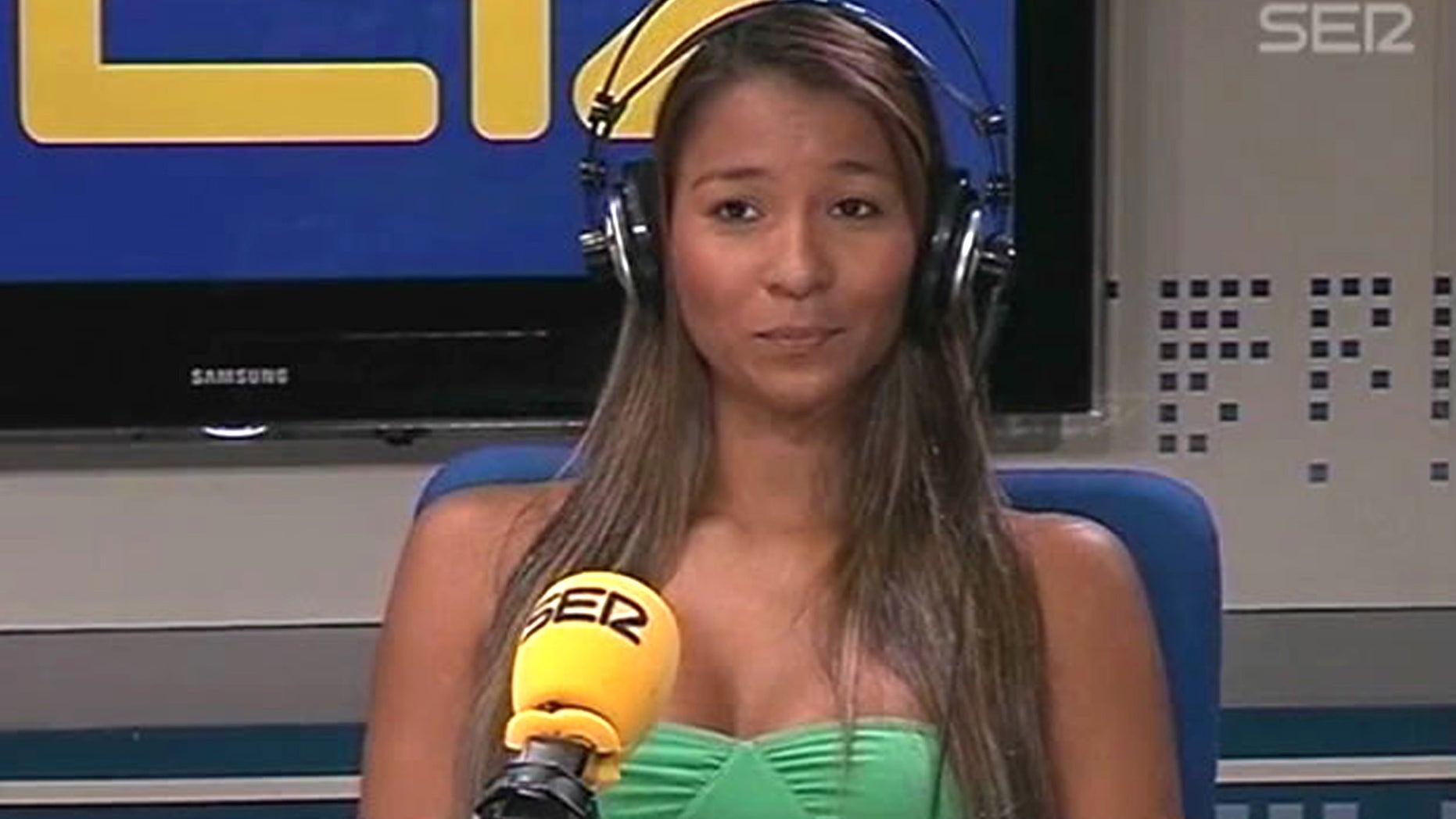 May 4, 2012:  Frame grab by Spanish radio station Cadena SER website shows Dania Londoño Suárez, the woman who triggered the U.S. Secret Service scandal in Colombia.