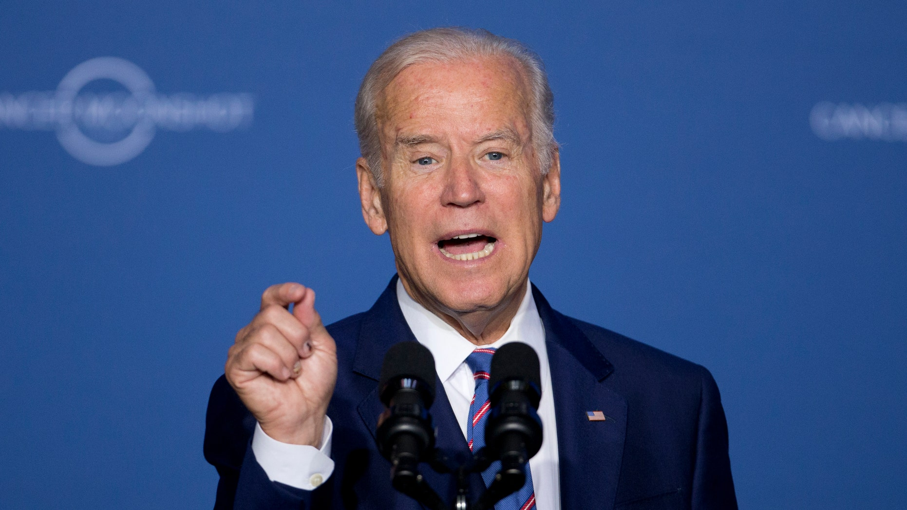 Vice President Joe Biden speaks at the Cancer Moonshot Summit at Howard University in Washington, Wednesday, June 29, 2016. Biden is trying to bolster efforts to cure cancer at this summit focusing on research and innovative trials.