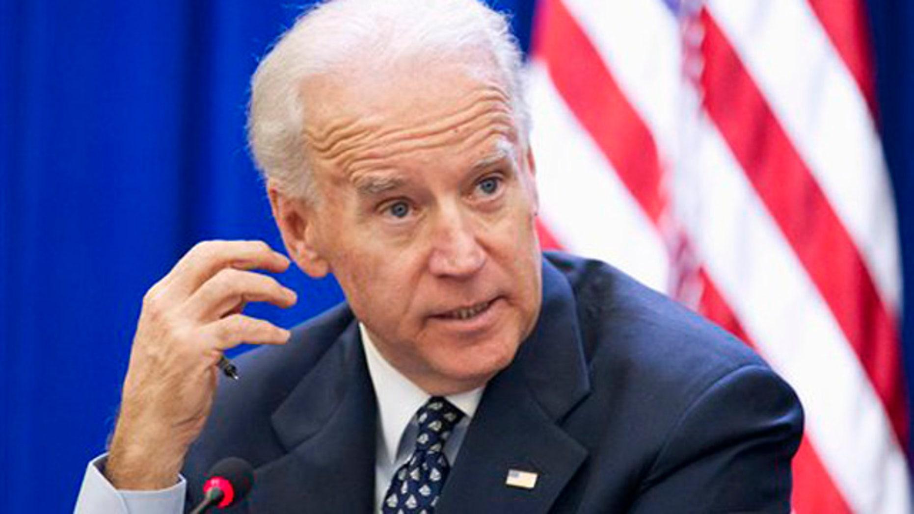 Dec. 13, 2011: Vice President Joe Biden hosts a Cabinet meeting in Washington.