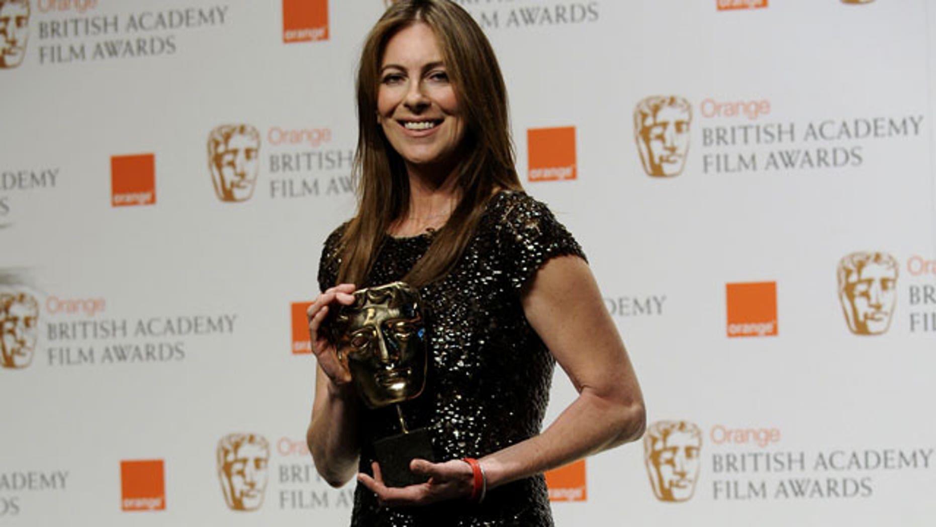 Kathryn Bigelow also got a Bafta for 'Hurt Locker' in 2009.