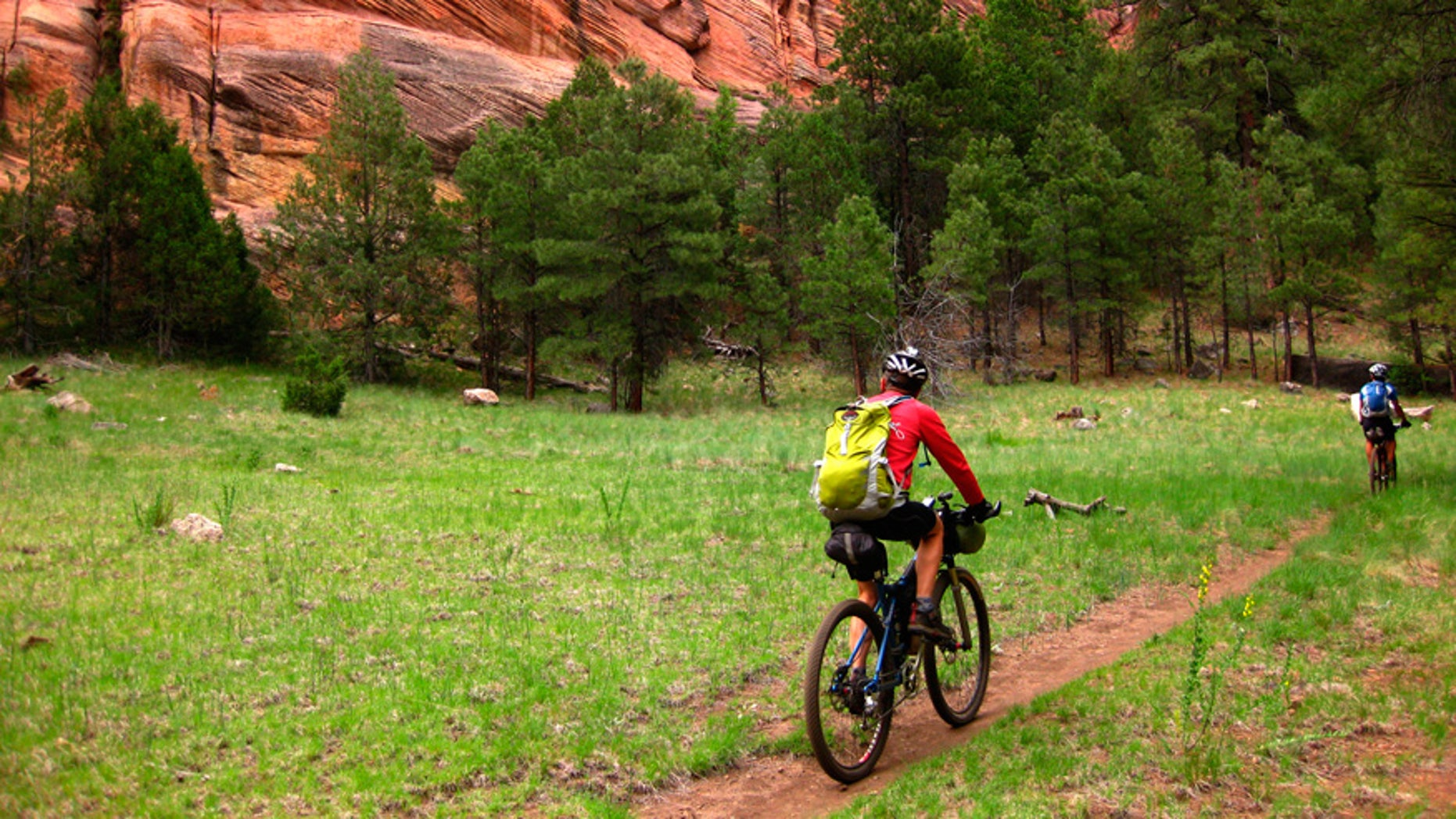 Bikepacking is basically the two-wheeled version of backpacking.