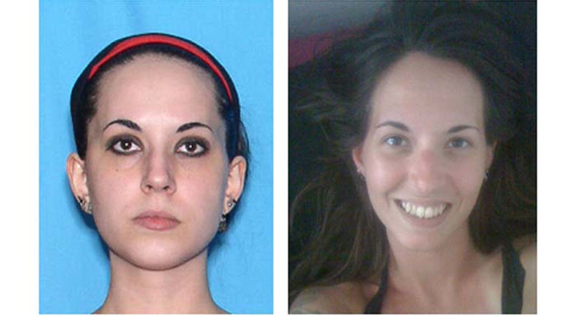 These undated photos, provided by the Ormond Beach Police Department, show 28-year-old Heather Bird, of Holly Hills, Fla. Bird was last seen leaving a local strip club on Aug. 28.