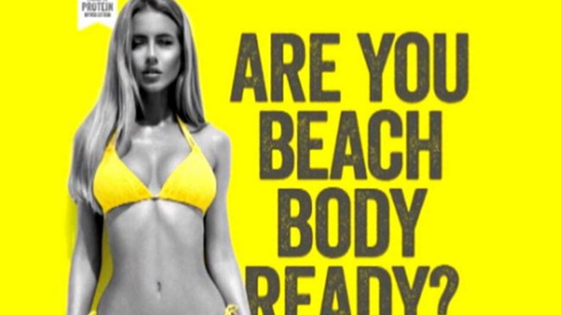 """This ad touched off a """"body-shaming"""" cntroversy, but critics charge London's new mayor has other reasons for banning such images."""