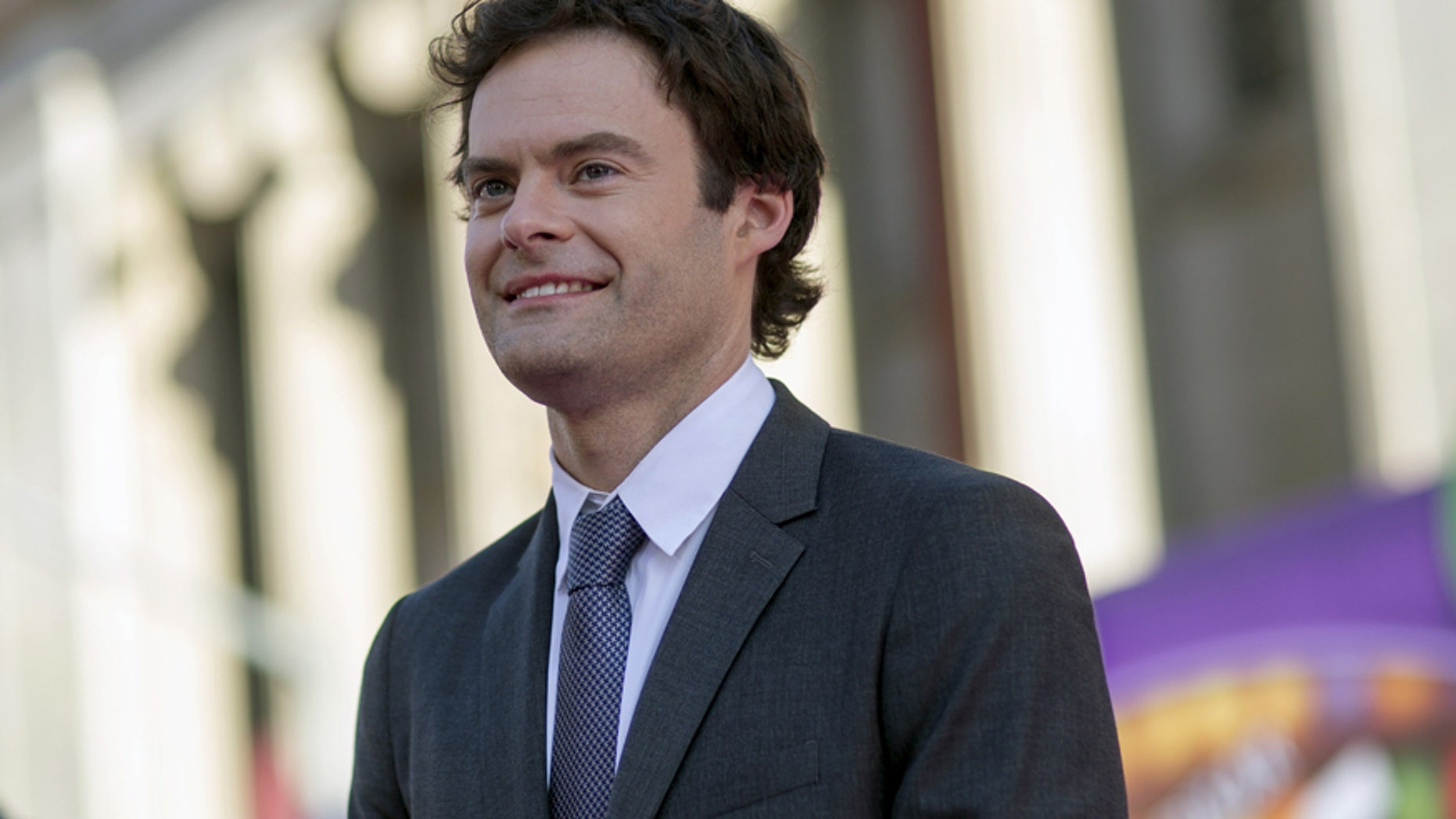 """Cast member Bill Hader poses at the premiere of """"Inside Out"""" at El Capitan theatre in Hollywood, California June 8, 2015. The movie opens in the U.S. on June 19."""