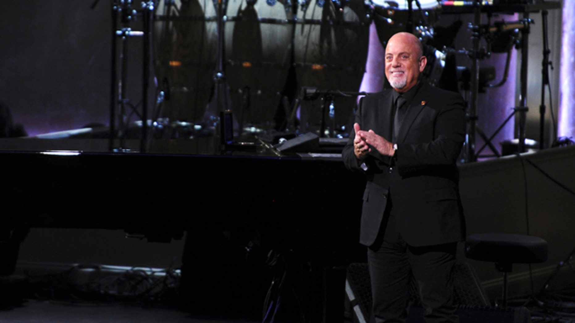 November 19, 2014. Billy Joel, the latest recipient of the Gershwin Prize for Popular Song, is honored during a tribute concert at DAR Constitution Hall in Washington.