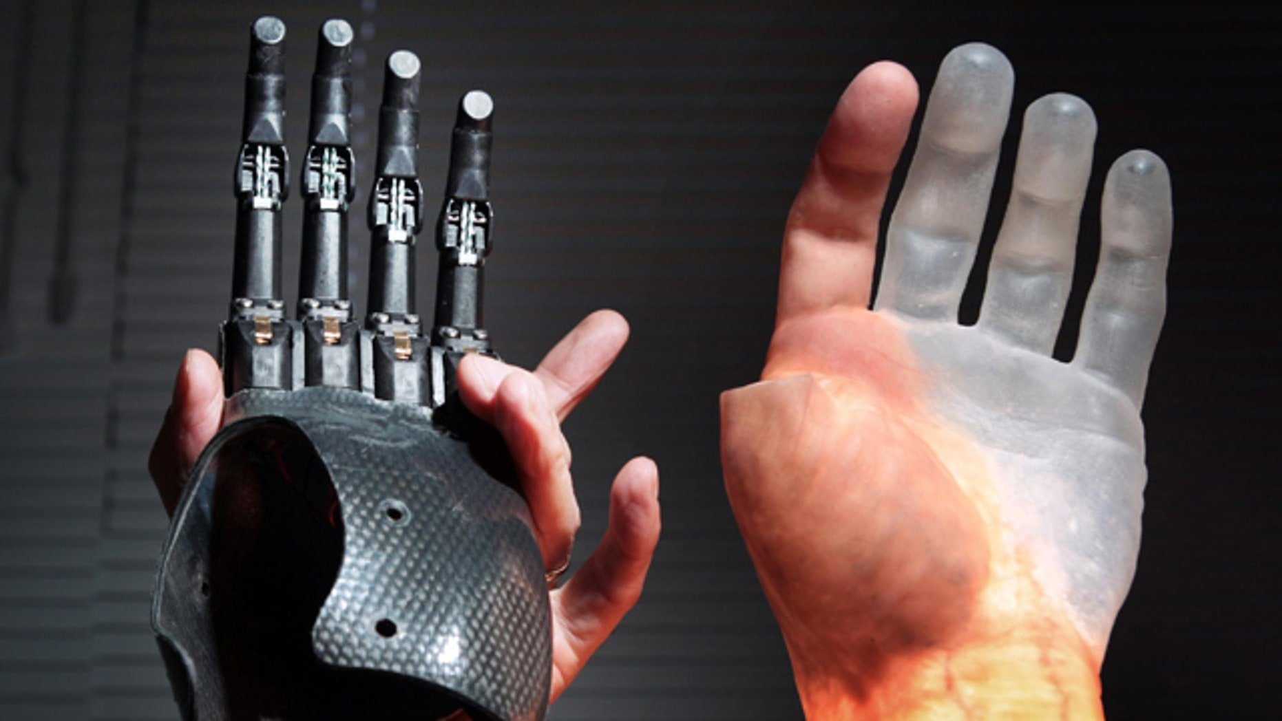 Scientists today unveiled what they claim are the world's first bionic fingers, which they hope will transform the lives of people with missing digits. The new bionic fingers can be seen being demonstrated at Touch Bionics in Livingston near Edinburgh.
