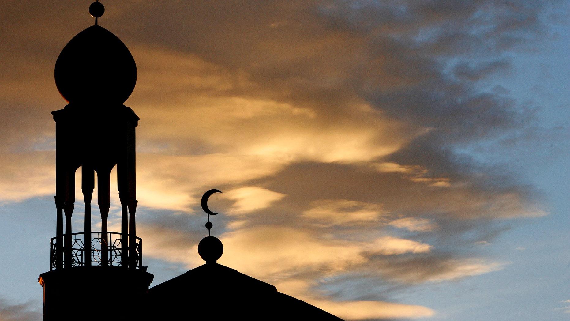 Birmingham Central Mosque, Highgate, Birmingham, England.