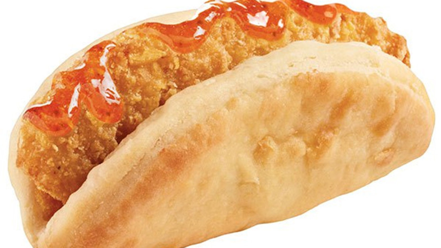 Taco Bell is testing the Biscuit Taco in select markets.