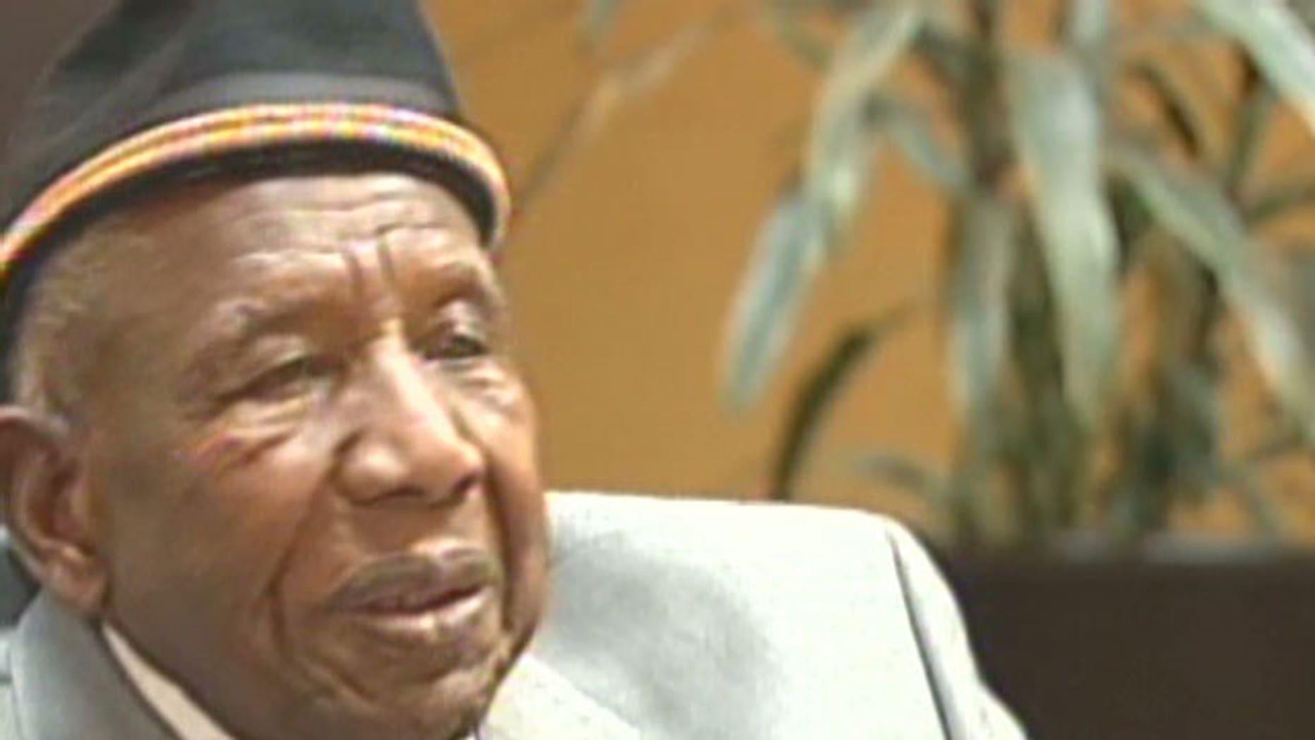 Bishop Otis Clark, the world's oldest traveling minister.