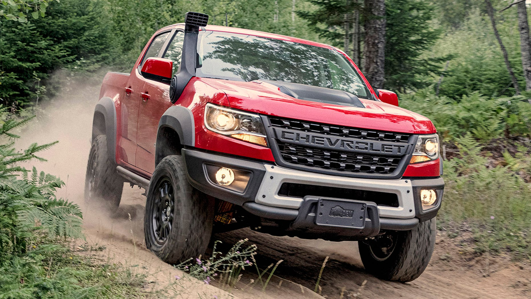"An exclusive, flow-through ""CHEVROLET"" lettered grille replaces the traditional bow-tie on Bison's front end."