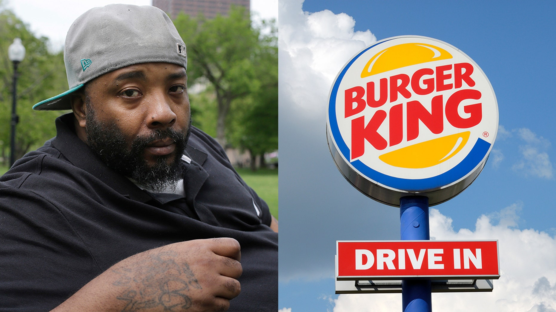 Ellis Emory is suing Burger King for nearly $1 million after they falsely accused him of using counterfeit money and he ended up in jail.