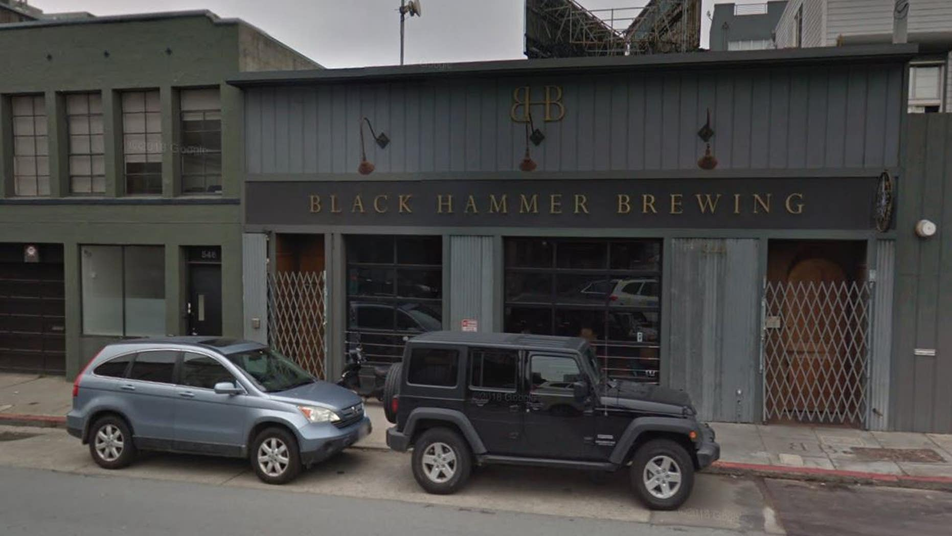 A California brewery's production of cannabis beer is going up in smoke.