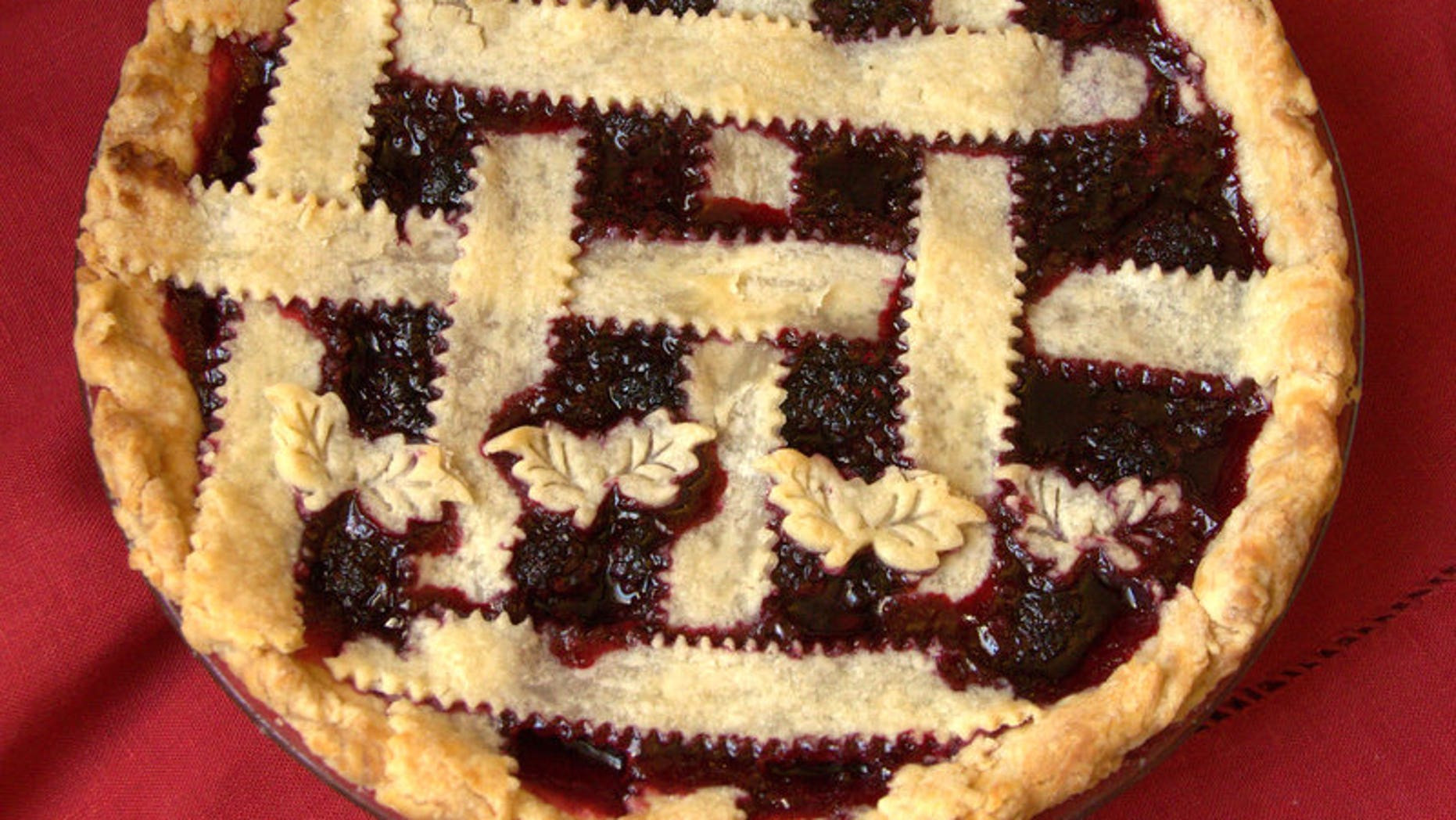 Nanny's blackberry pie (Courtesy of Emily Nichole Grossi)