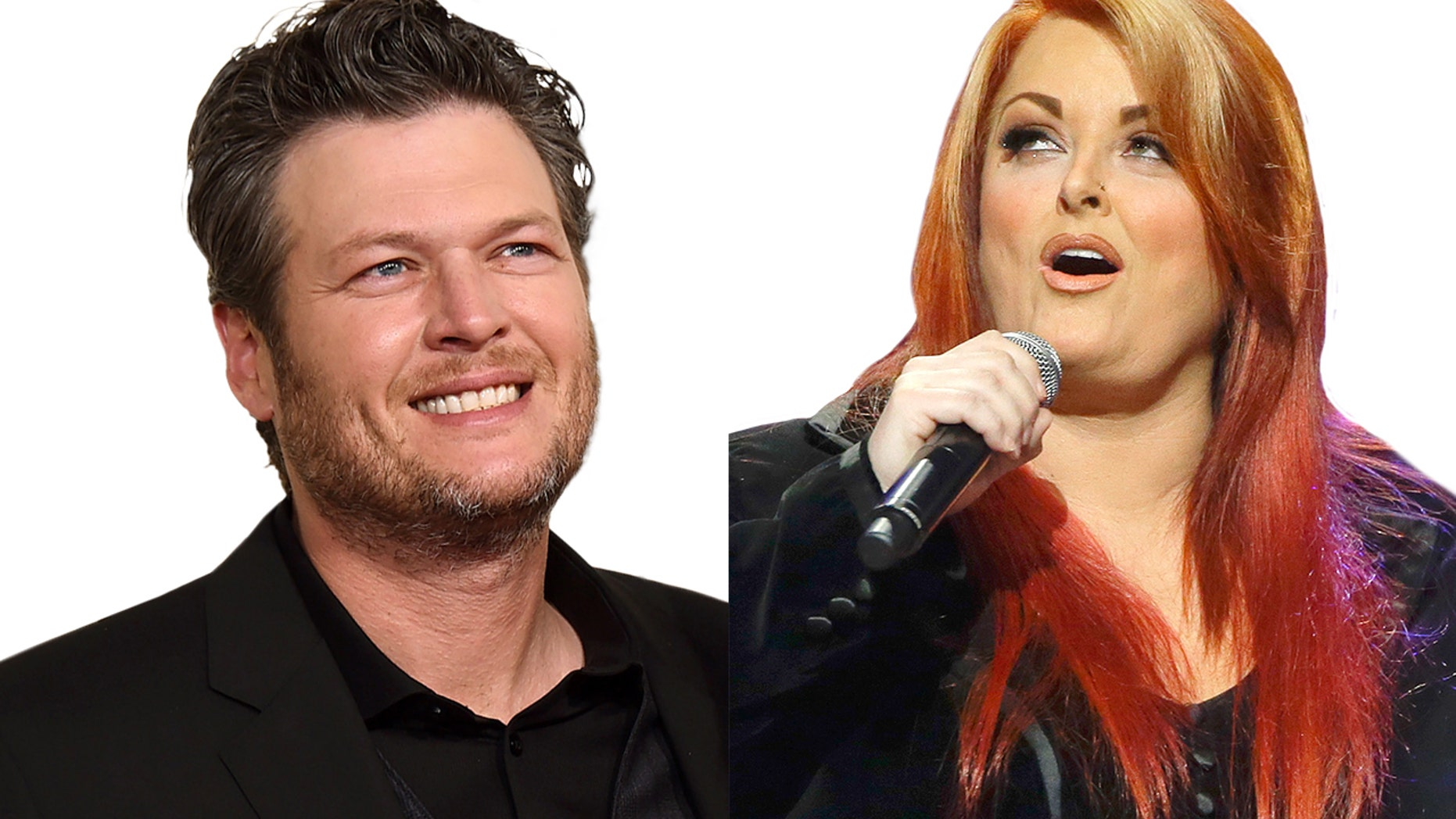Wynonna Judd was asked about Blake Shelton's onstage drinking.