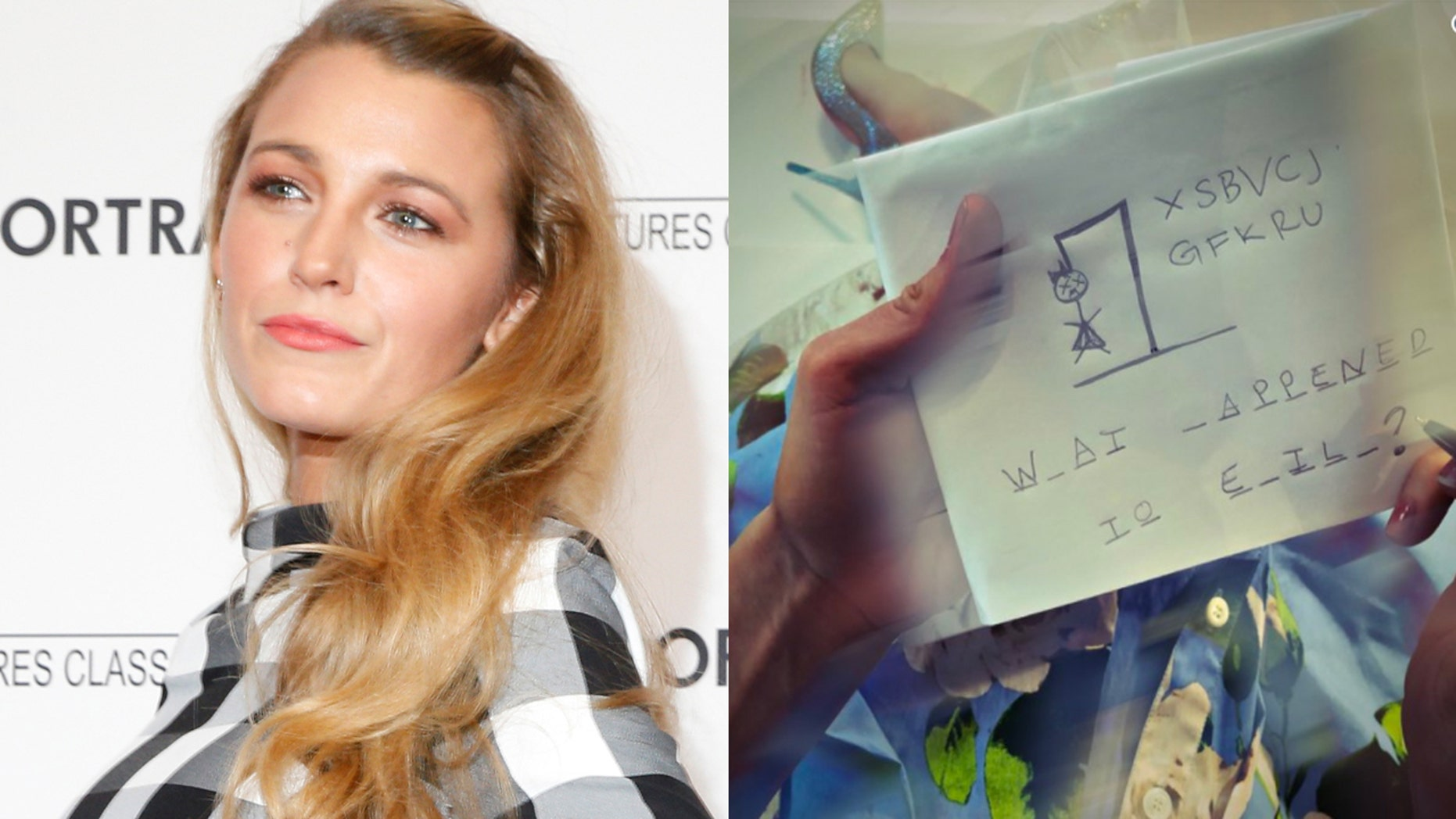 Blake Lively's Instagram posts have mysteriously disappeared by the actress managed to share one cryptic post on Twitter.