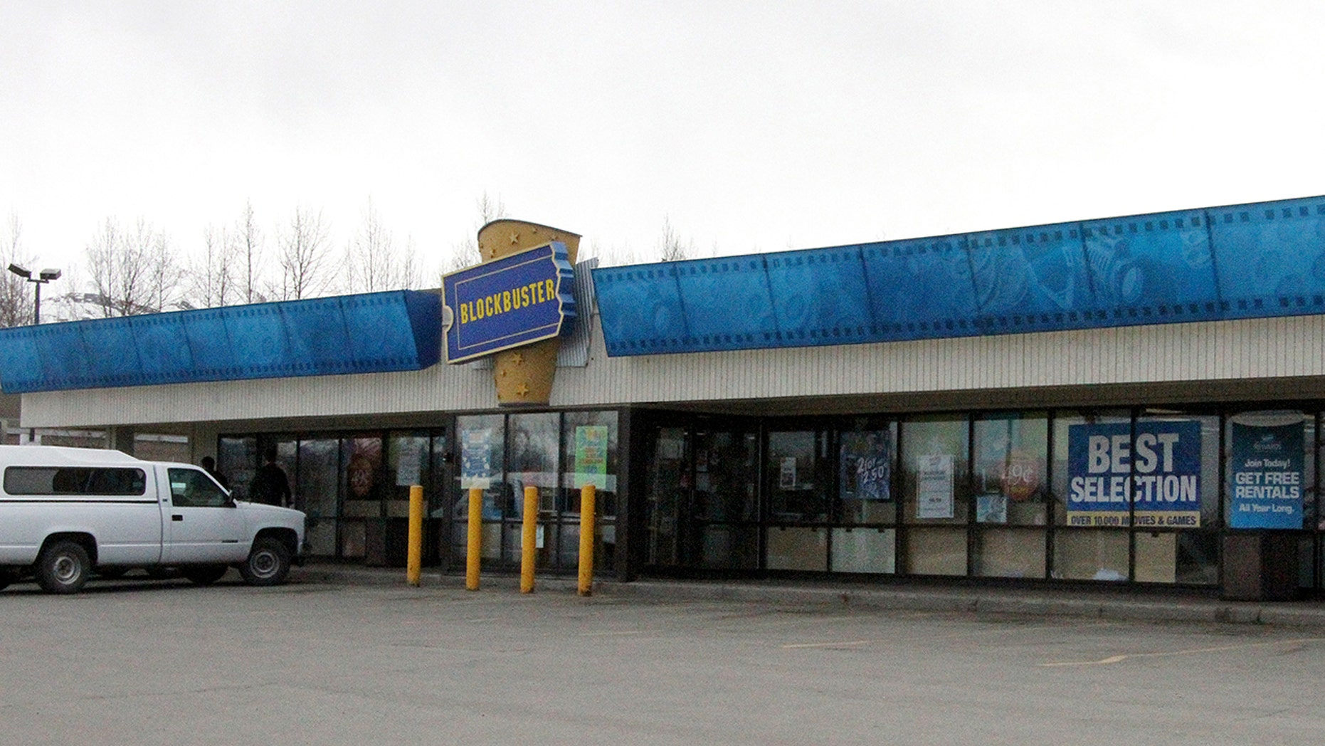 Alaska's last two Blockbuster video rental stores will close this week and liquidate remaining inventory, the stores' management announced Thursday. With the closure of the Alaska location, only a single store will remain in the U.S.