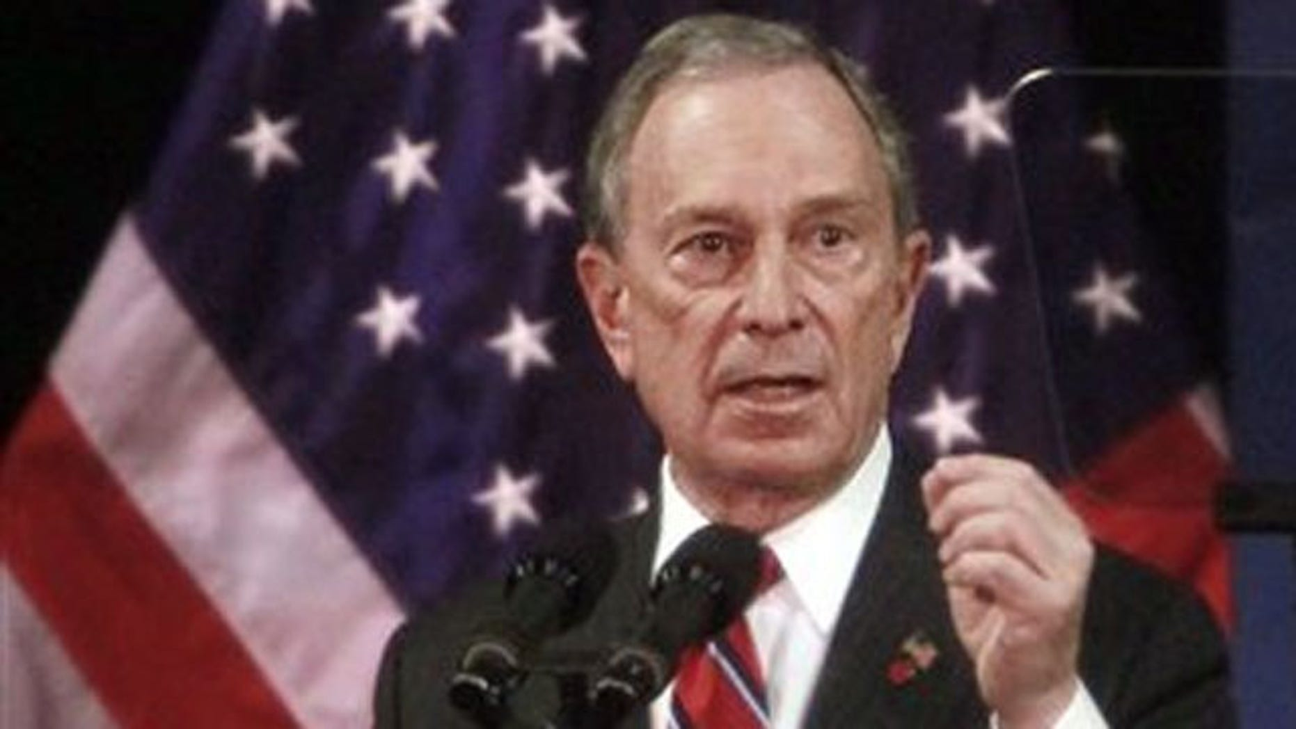 New York City Mayor Michael Bloomberg speaks during his 'State of the City' address Jan. 19 in Staten Island.