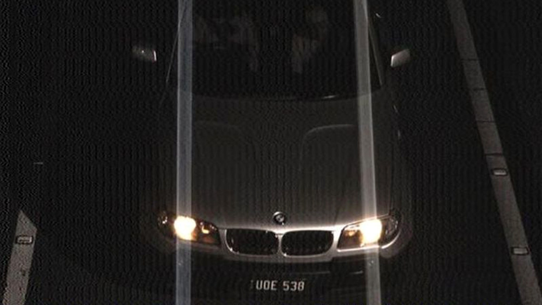 A BMW photographed in Broadmeadows, Australia, with cloned licence plates