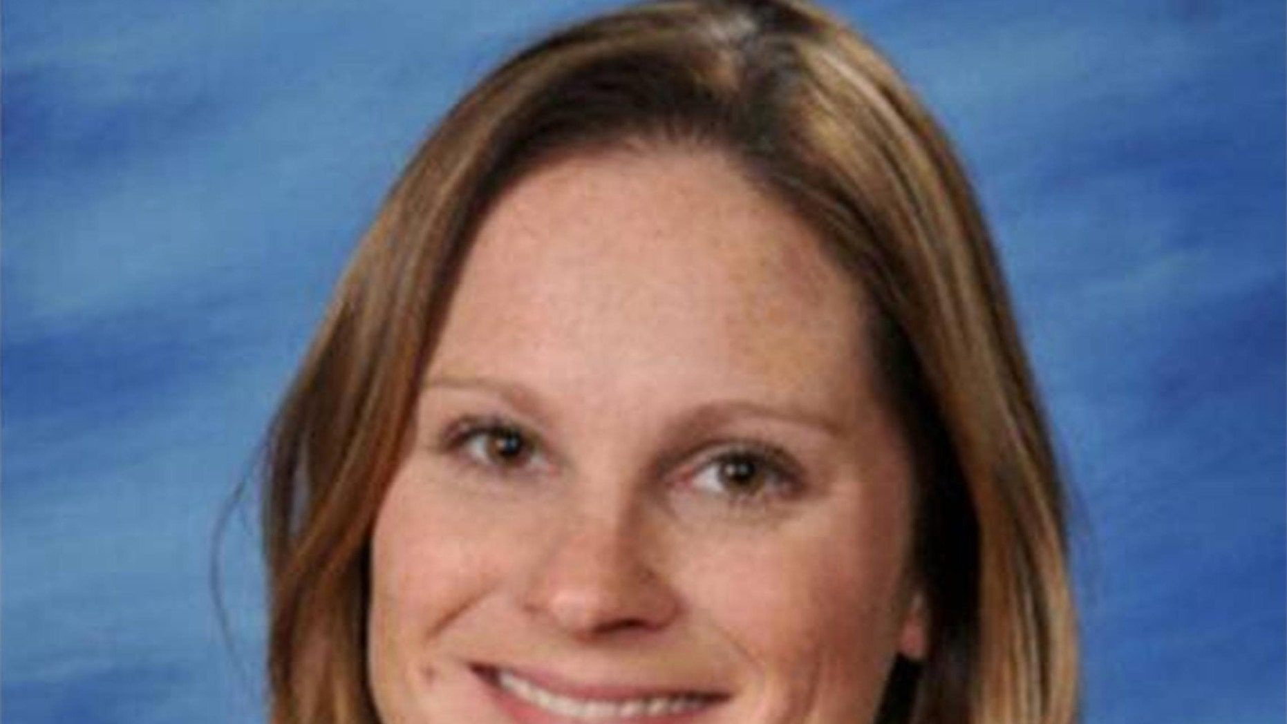 Heather Holland, a second-grade teacher and mother of two.