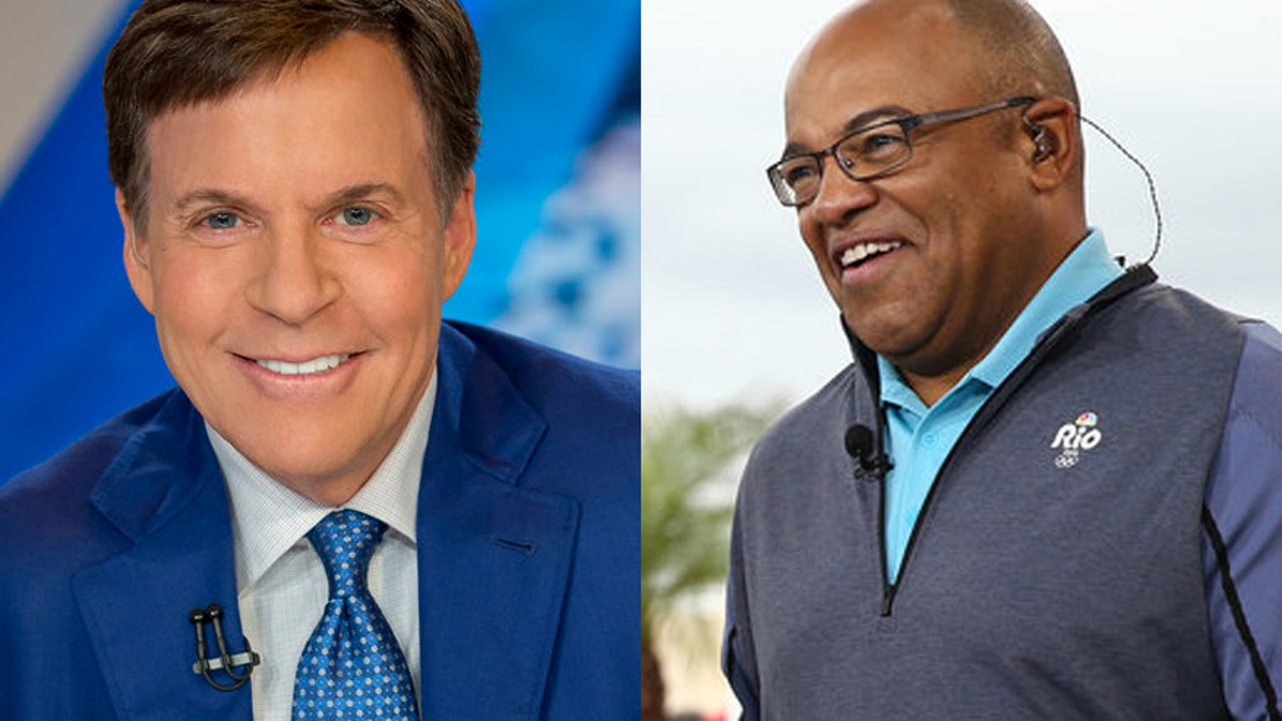 Bob Costas was replaced by Mike Tirico after stepping down from his role as prime-time host of NBC's Olympics coverage.