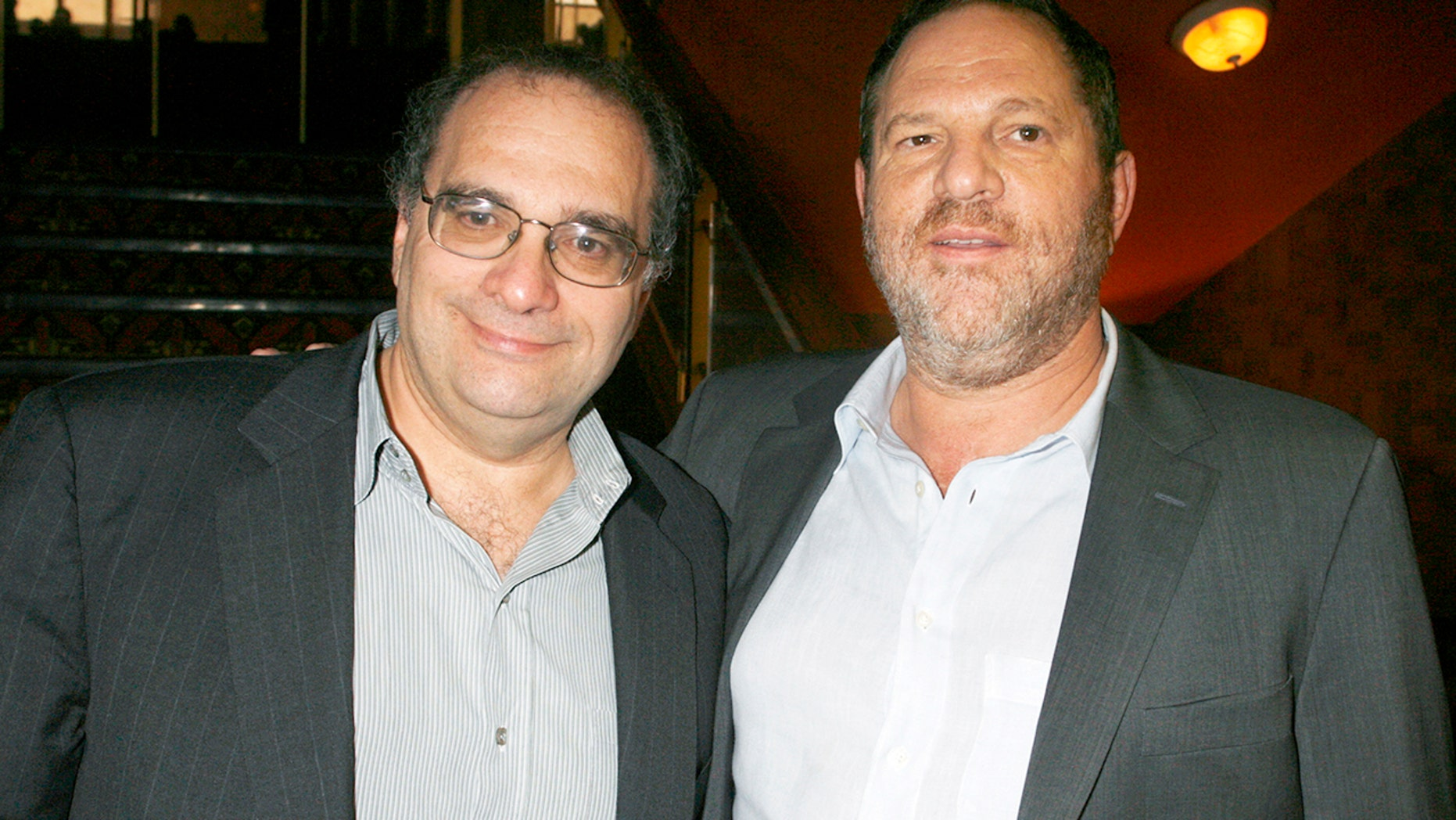 Bob Weinstein, left, with his brother Harvey Weinstein in 2007.