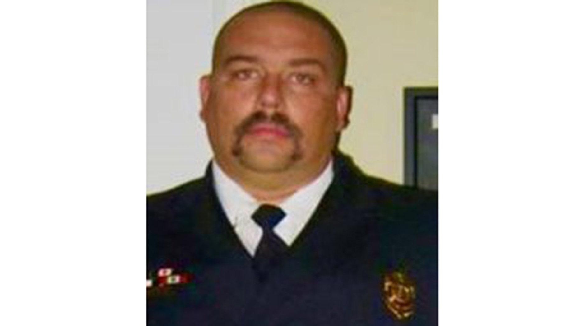 Fire captain Robert Poynter, 47. (University Park Fire Department)