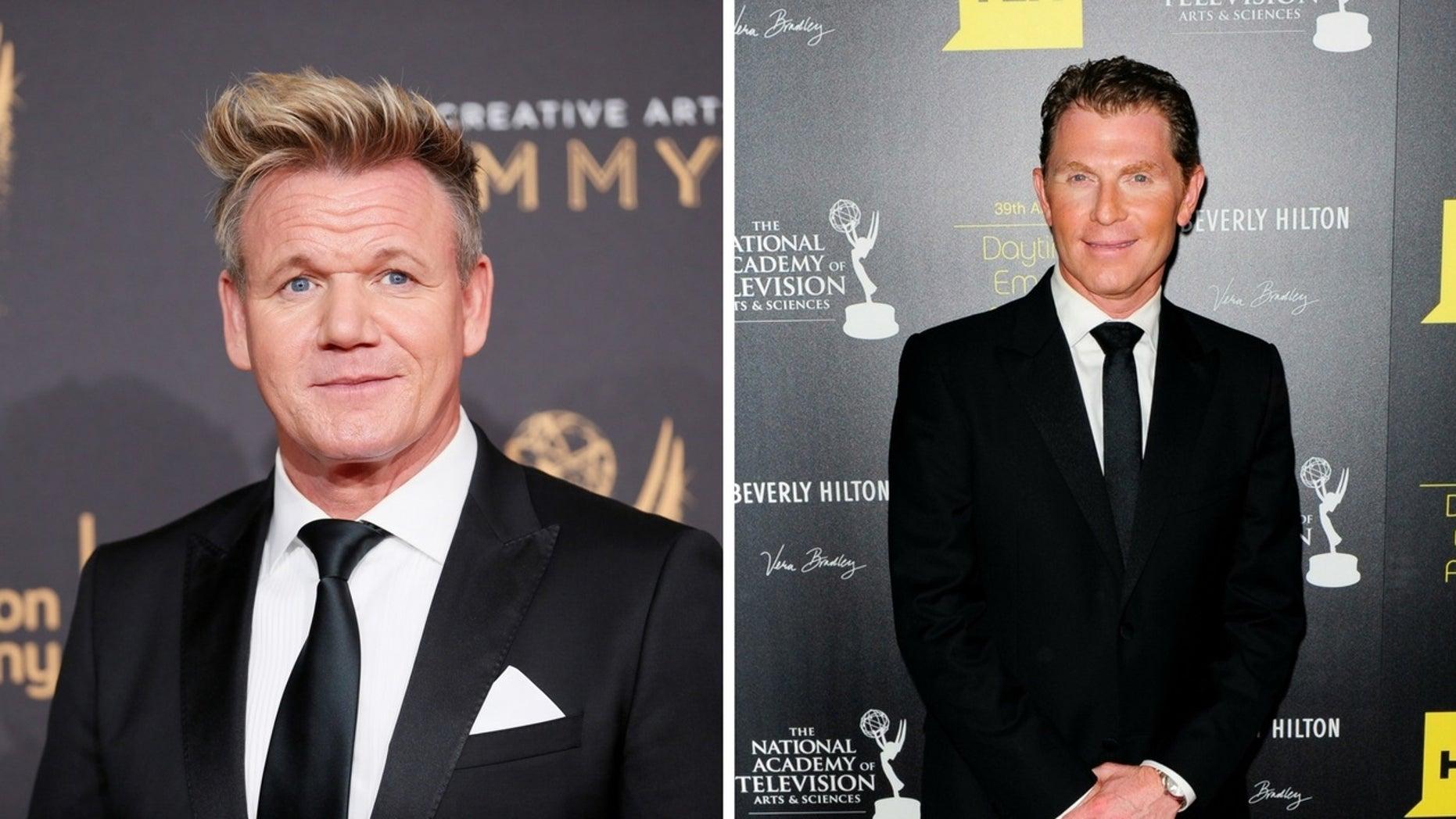 "Gordon Ramsay slammed Bobby Flay on ""The Late Late Show with James Corden."""