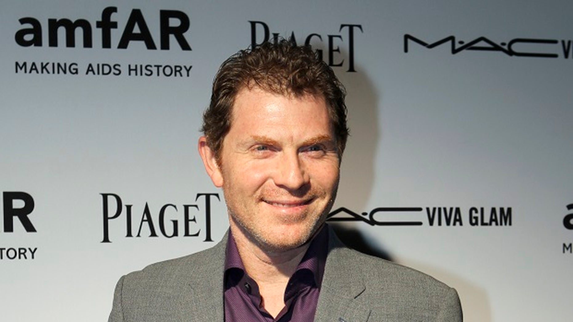 """Bobby Flay struck down rumors stating the celebrity chef quit Food Network's """"Iron Chef."""""""