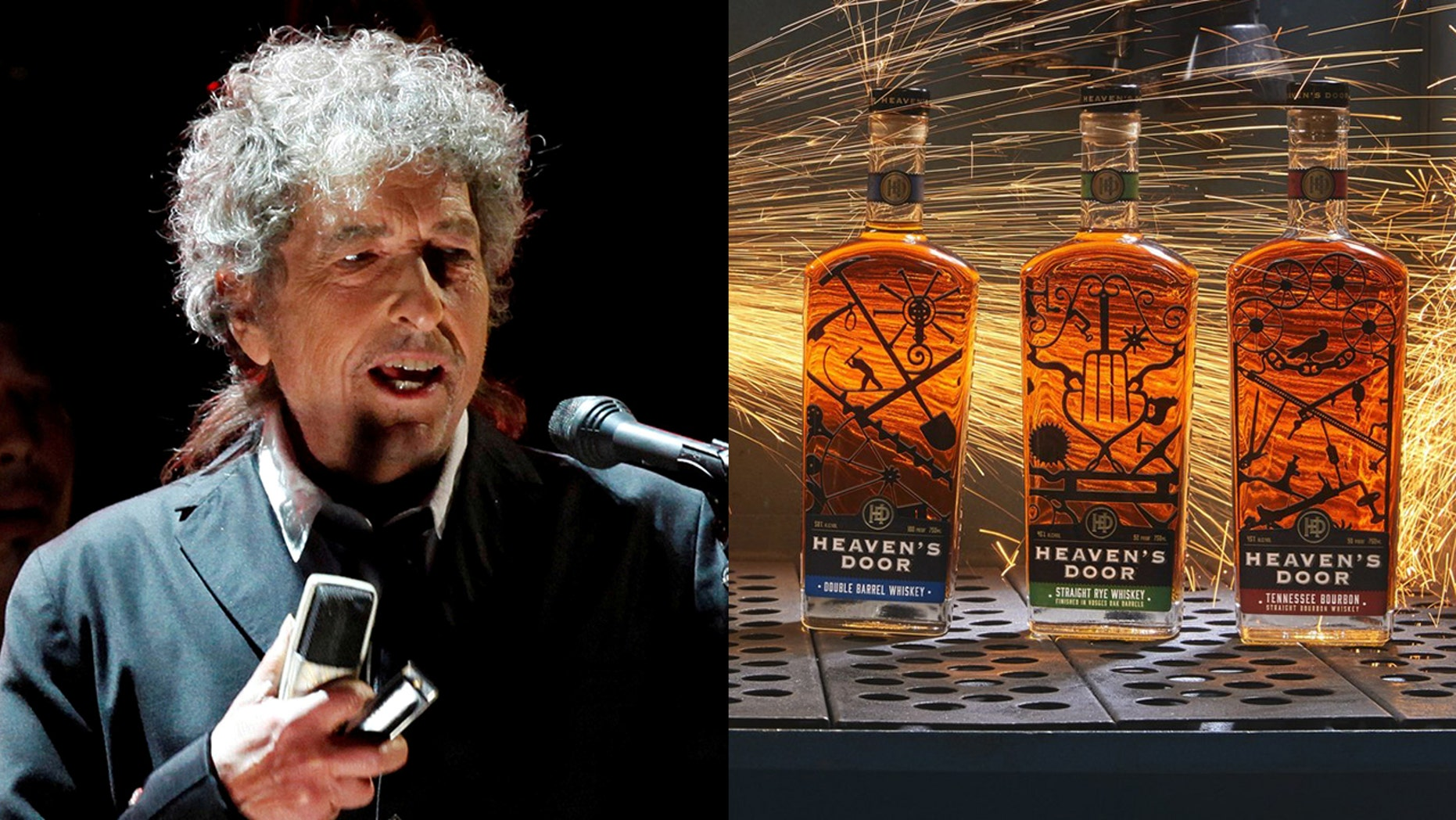 The first three varieties in Dylan's line of Heaven's Door Spirits will debut in select cities mid-May.