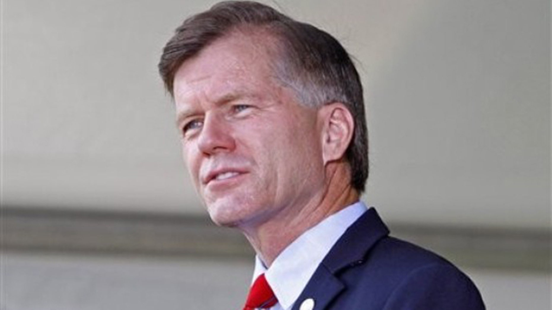 FILE: July 21, 2011: Virginia Gov. Bob McDonnell speaks in Manassas, Va. McDonnell is also chairman of the Republican Governors Association.