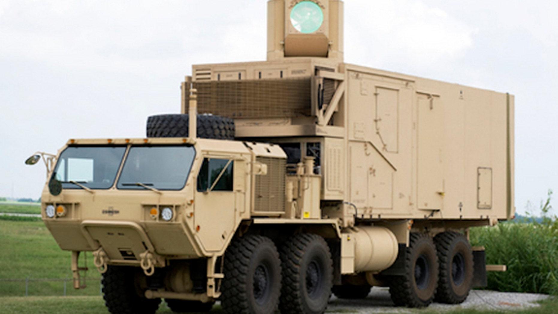 Boeing's High Energy Laser Mobile Demonstrator (HEL MD).