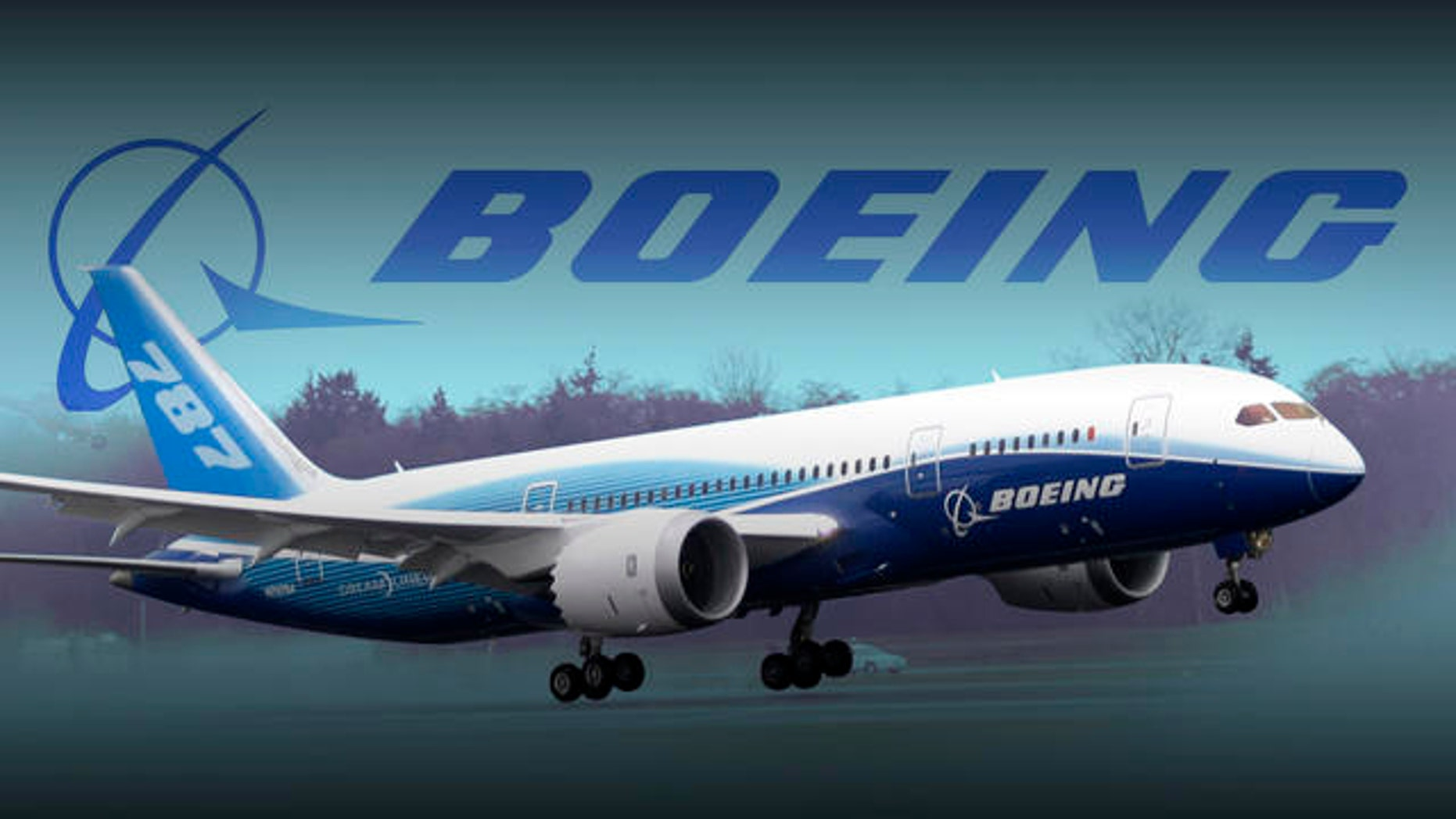 A Boeing Co. 787 airplane.