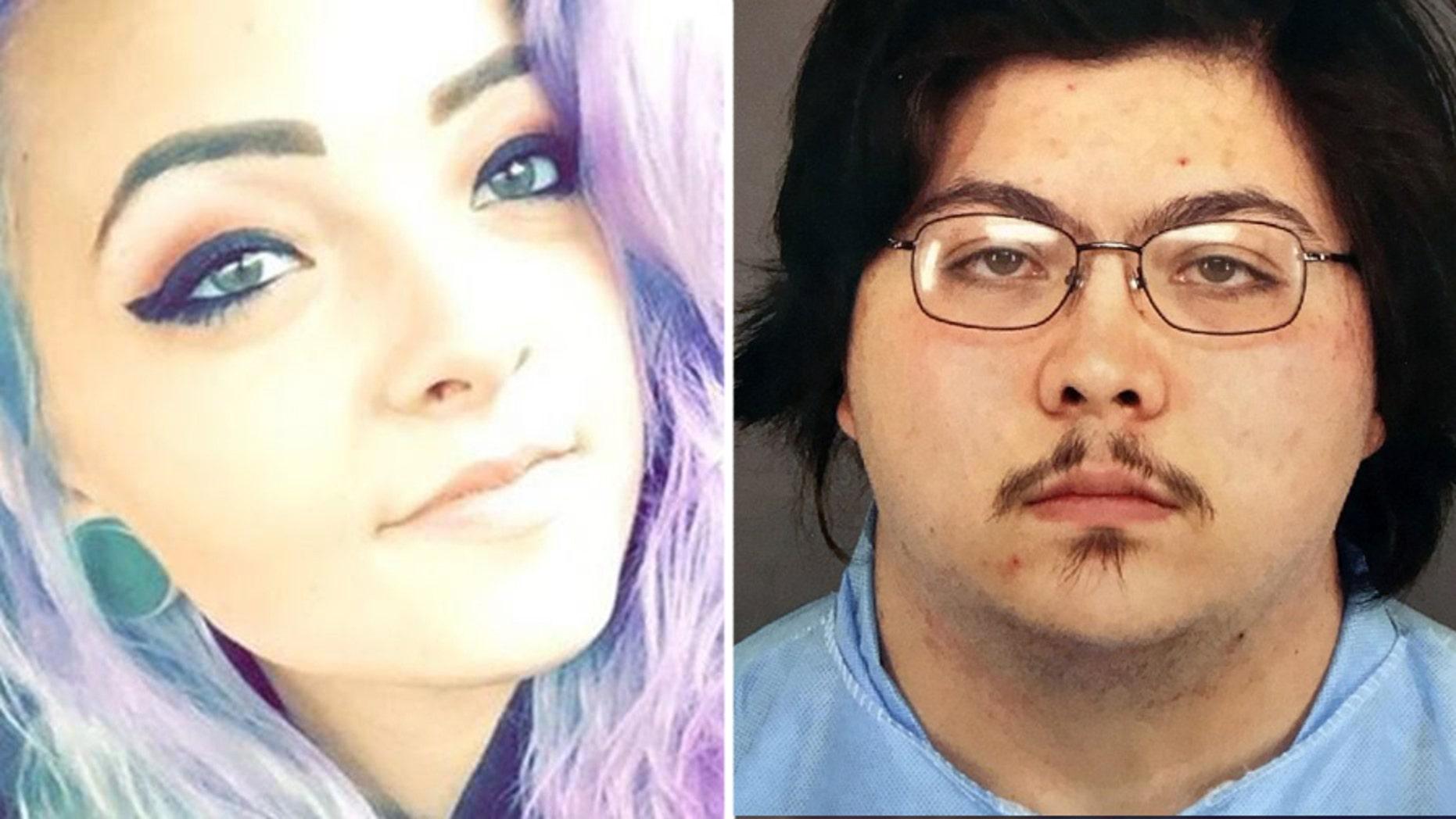 Natalie Bollinger, 19, and Joseph Lopez, 22.
