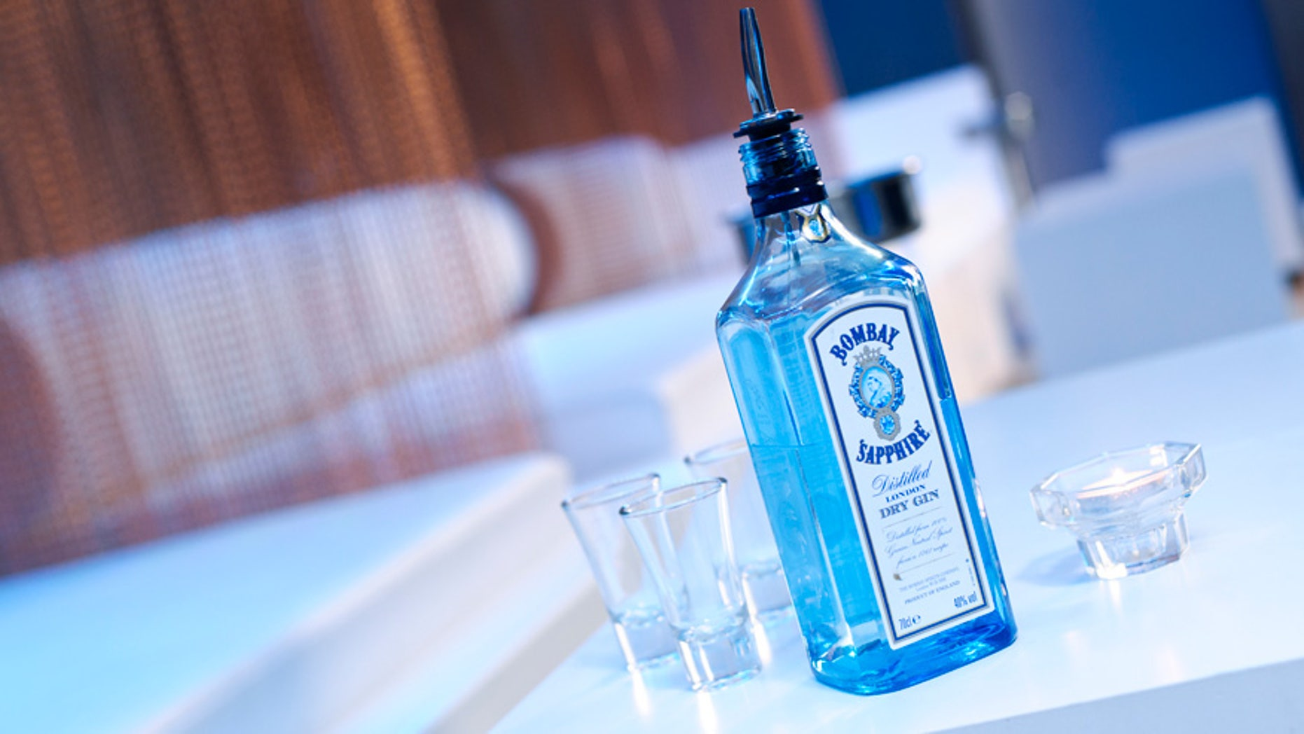 Certain bottles of Bombay Sapphire gin were shipped out with double the alcohol they were supposed to contain.