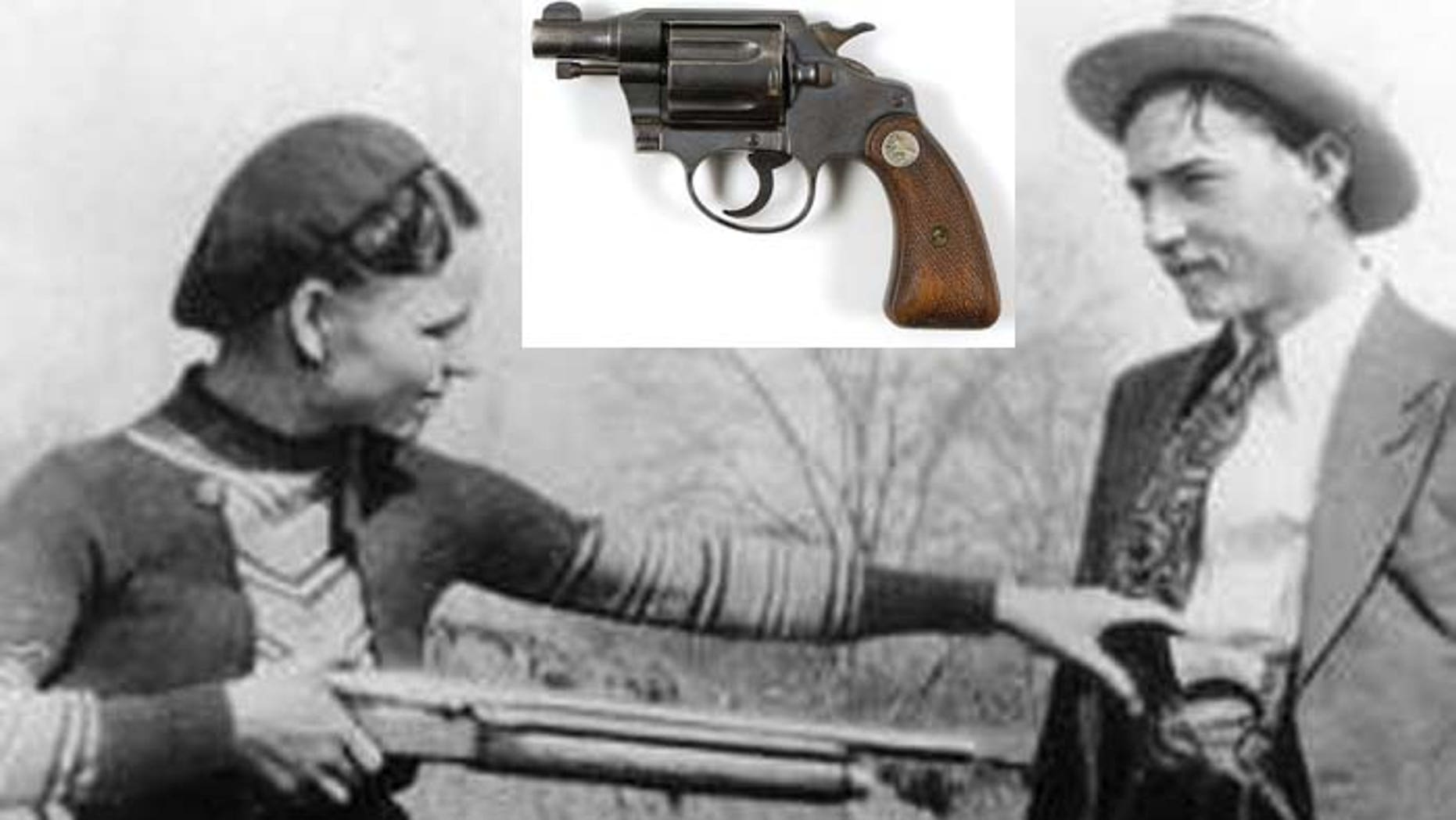 Bonnie Parker was just 24 in 1934 when she and Clyde Barrow died in a hail of gunfire after being ambushed by authorities in Louisiana. Their deaths ended a legendary Depression-era crime spree that spanned the central U.S. and included holdups of more than a dozen banks and scores of small shops and gas stations. (AP file)