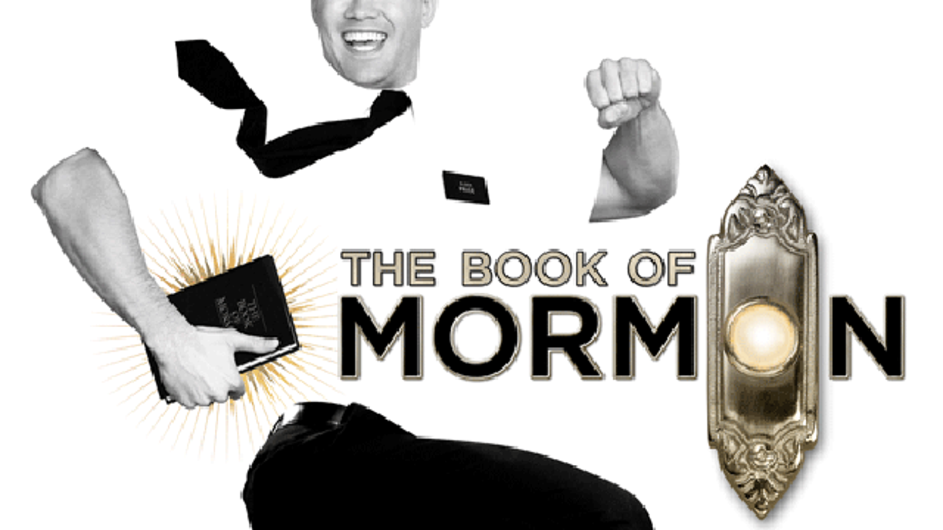 A promo image for 'The Book of Mormon.' (Bookofmormonbroadway.com)