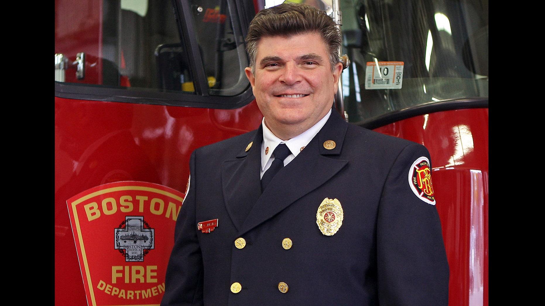 Boston Fire Chief Steve Abraira