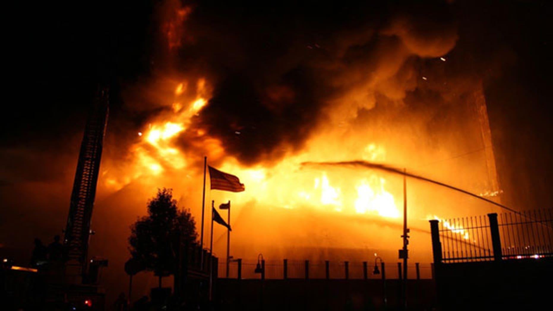 Fireworks Caused Boston's Massive Warehouse Blaze