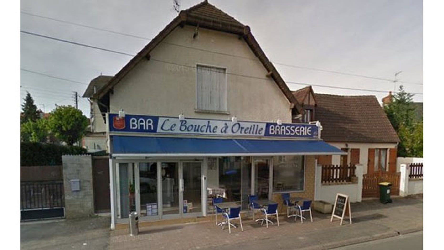 Bouche à Oreille cafe in Bourges, France. (Google Street View)