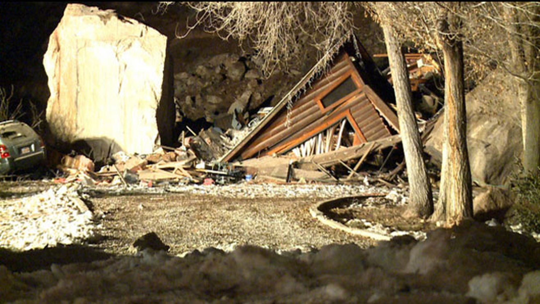 Rockville, Utah, authorities said they will resume work at the site where two people were killed in a rock slide.