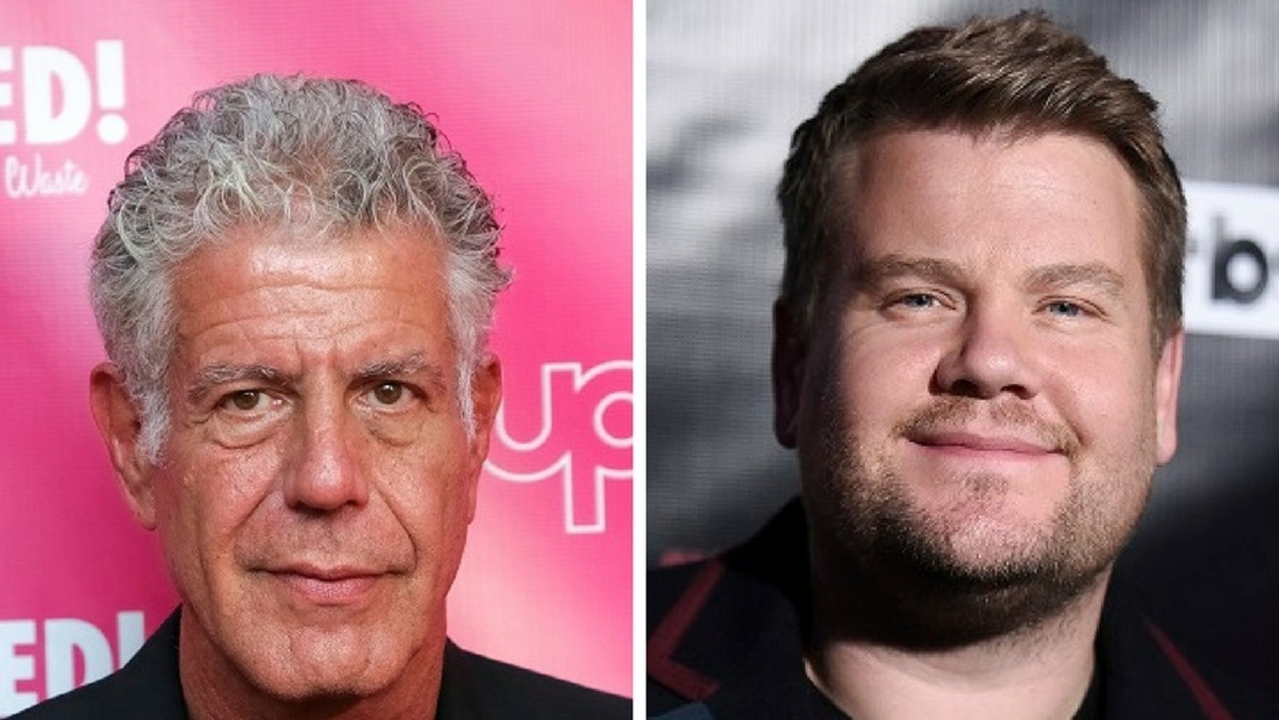 Anthony Bourdain blasted James Corden on Twitter following his controversial jokes about Harvey Weinstein.