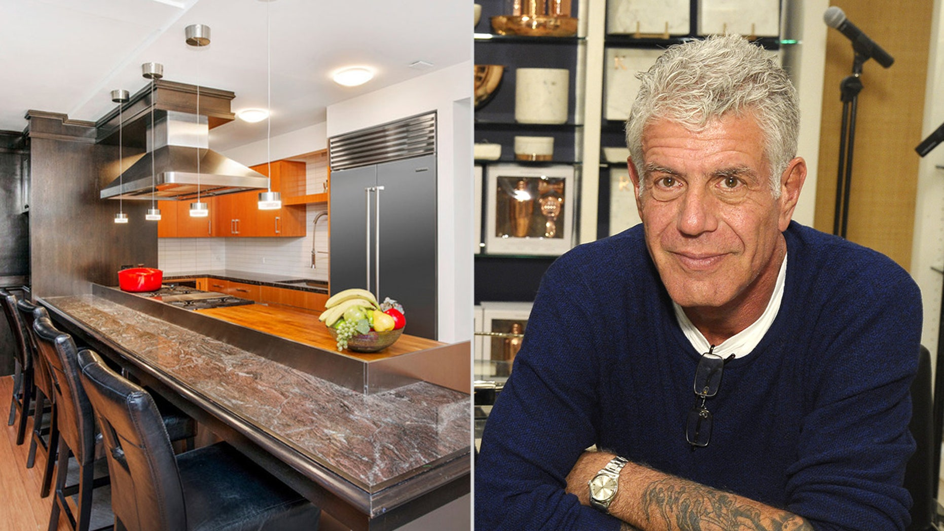 Bourdain and disloyal mother Ottavia Busia bought a section in 2014 for $3.35 million.