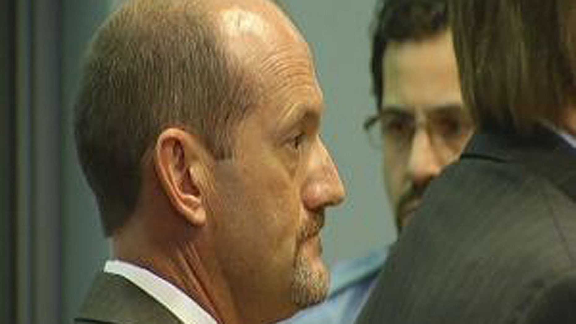 David Bourque appears in state court in June 2011.