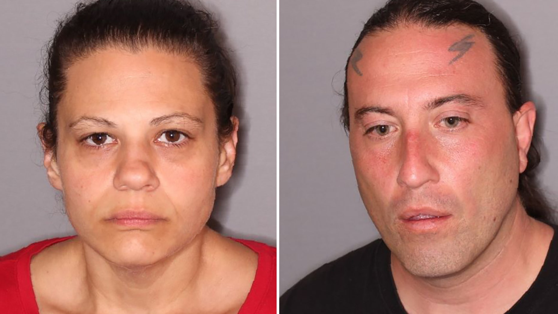 A 3-year-old boy remained on life support Wednesday after his mother, Alison Bovio, left, and stepfather, Donald Bovio, right, allegedly beat him with a belt so badly last week he was left brain dead.
