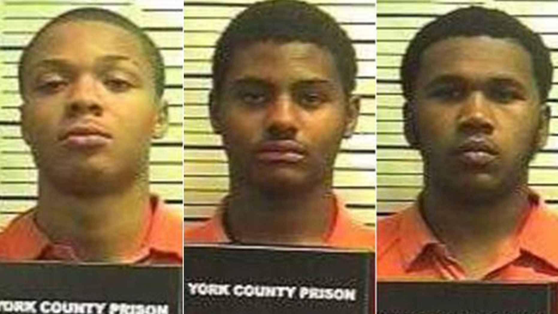 Three members of the Central York High School football team have been charged with raping a 14-year-old girl at gunpoint after she left a Pennsylvania town fair. (York County)