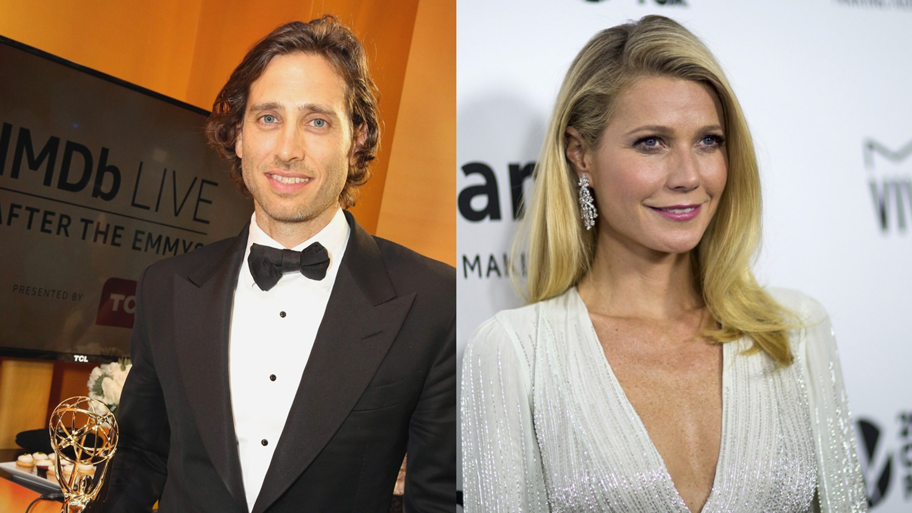 "Gwyneth Paltrow is engaged to ""Glee"" co-creator Brad Falchuk."