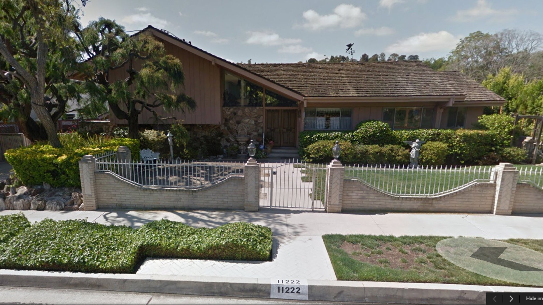 "Pictured is the house that served as the facade of the home where the Brady family lived in ""The Brady Bunch."""